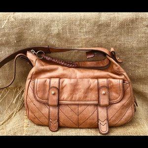 Leather Tommy Hilfiger Shoulder Bag